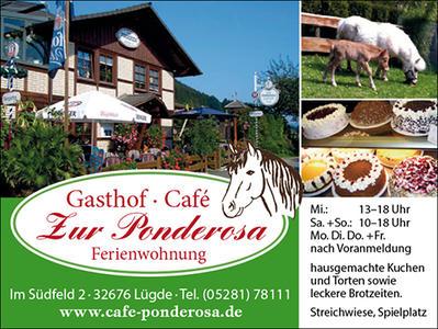 Externer Link: Gasthof, Cafe, Ferienwohnung Ponderosa